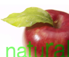 natural apple at the natural dentist